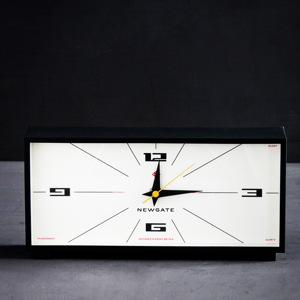 Our Newgate Mantel Clock is beautifully retro