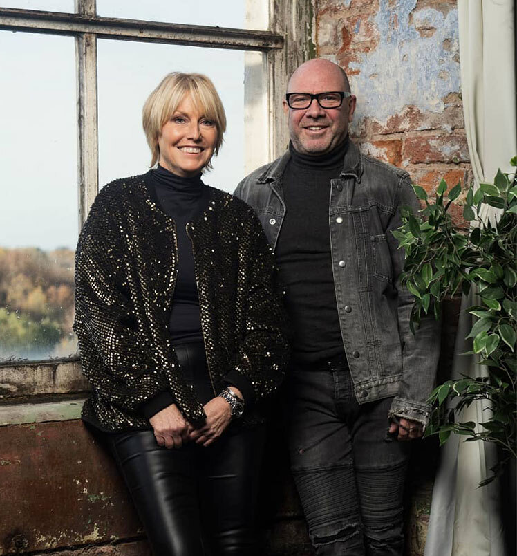 We thought we'd jump at the opportunity to reveal a little about Mark and Tracey.