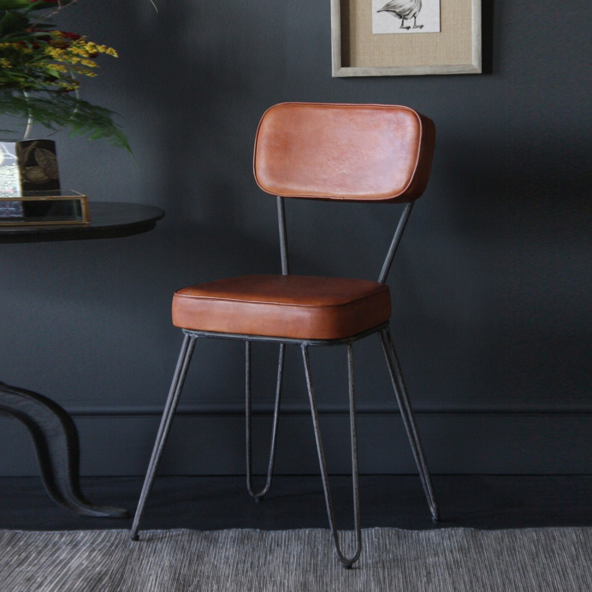Our Hairpin Chair is a refreshingly mid-century look.