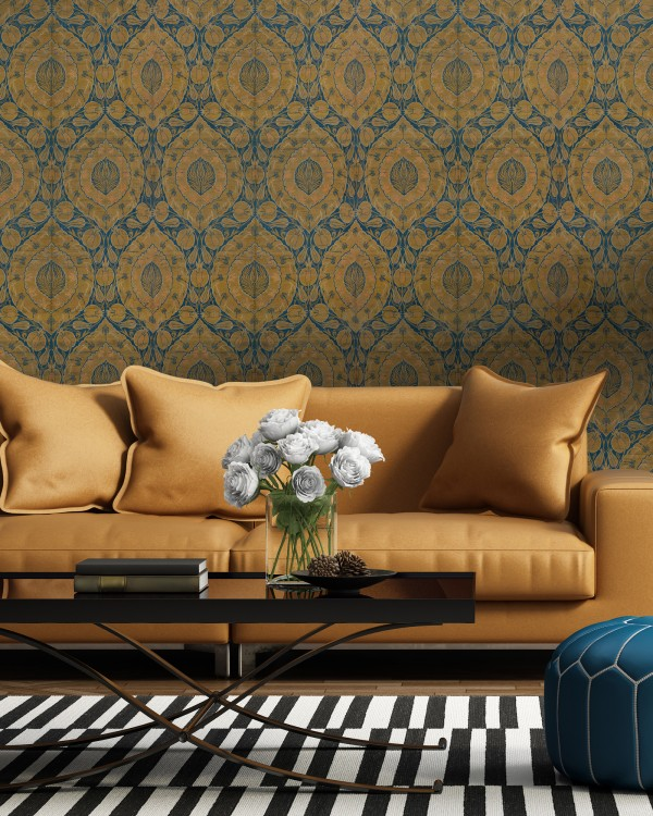 Feel those exotic Middle Eastern vibes with our gorgeous Kaftan Wallpaper!