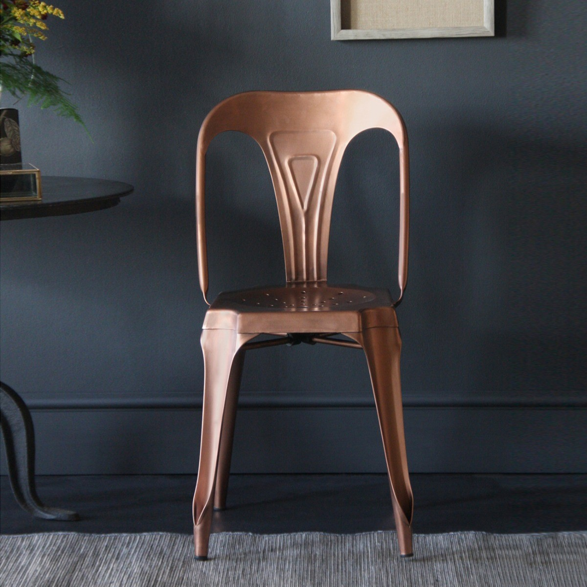 Copper Tolix Chair from Where Saints Go