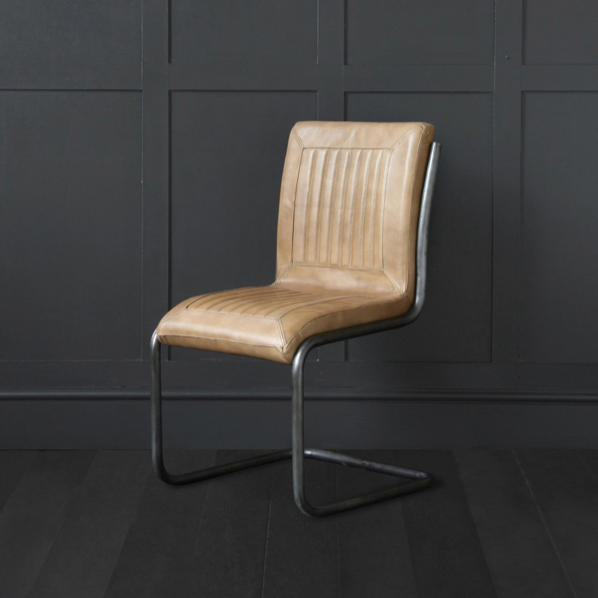Capri Industrial Leather Chair