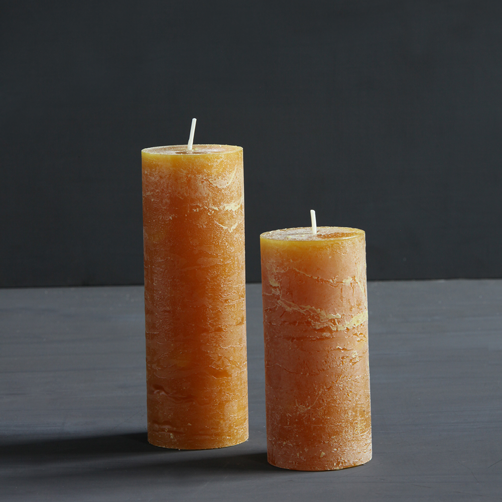 Our Pillar Candles are the perfect finishing touch for the big day!