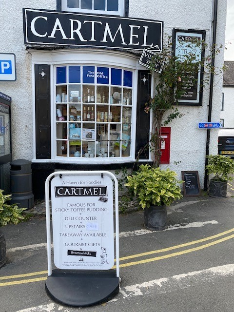 Where Saints Go To Eat - Cartmel - Home of Sticky Toffee Pudding