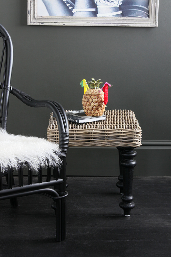 Side table sophistication is taken seriously with Kruk...
